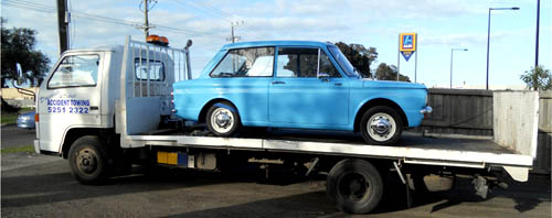 Drysdale classic car Towing